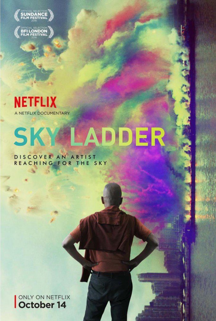 """'Sky Ladder' Trailer: """"Cai Guo-Qiang's Next Creation Will Ignite The World"""" https://t.co/ao7pZOakXc https://t.co/cQYClzfoZm"""