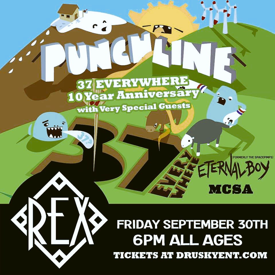 Hey Pittsburgh we're playing with our friends @punchlion and @EternalBoyMusic this Friday! Hope to see you there! https://t.co/IXuWjbyySU