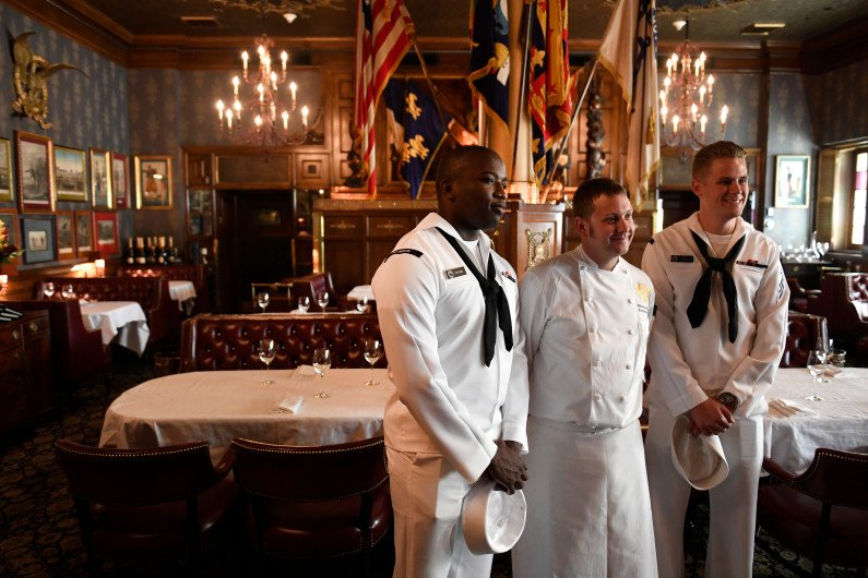 Submarine chefs run ashore at Brown Palace and learn Colorado cuisine