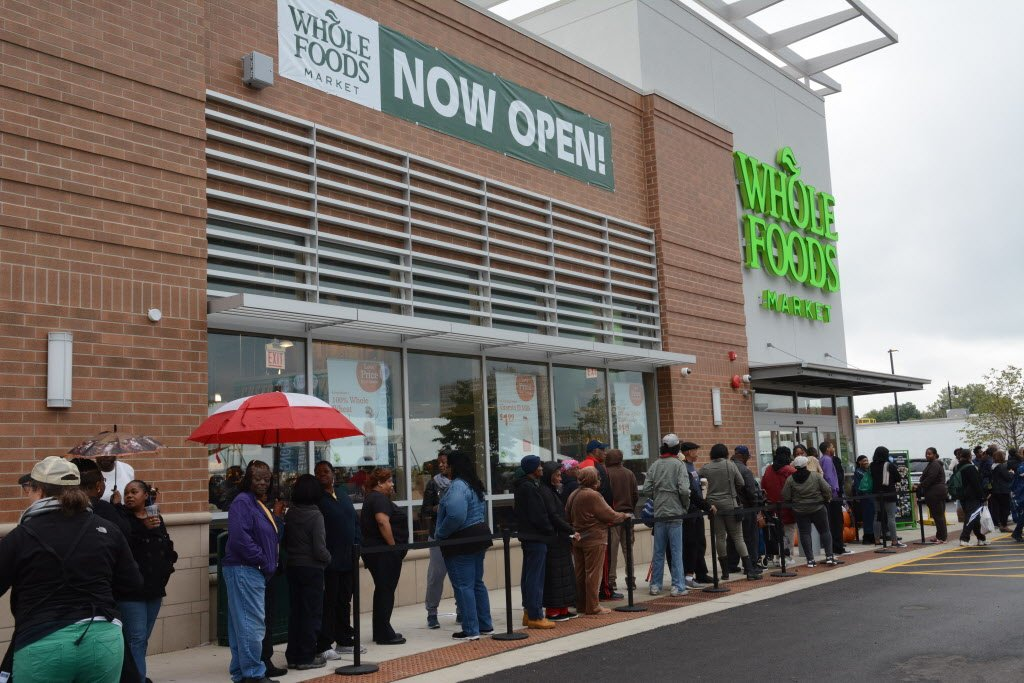 Whole Foods' opening a celebration for Englewood community