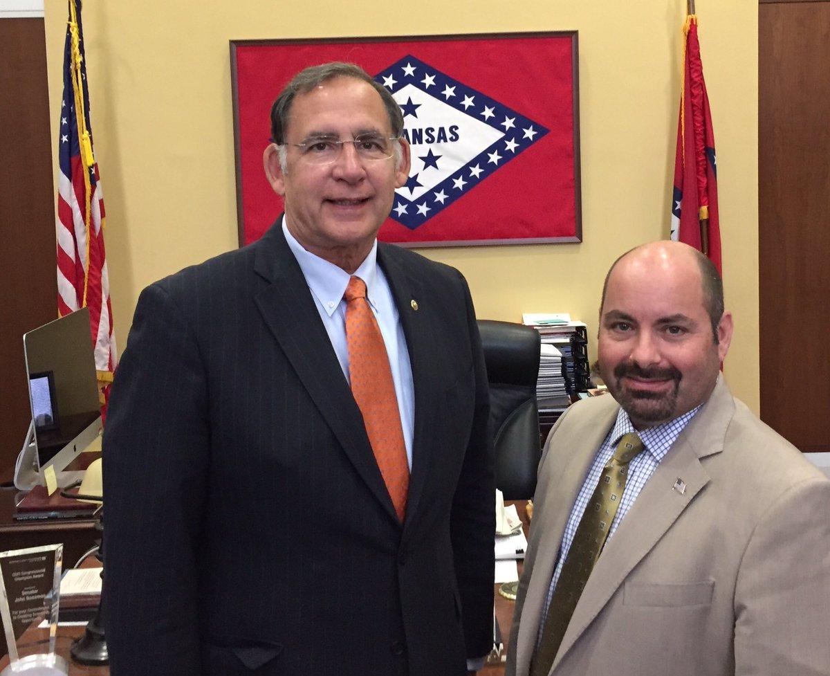 Senator Boozman,  Thank you for your time and hospitality yesterday. #JohnBoozman #NMAdvocates<br>http://pic.twitter.com/B5HC8dRBD9