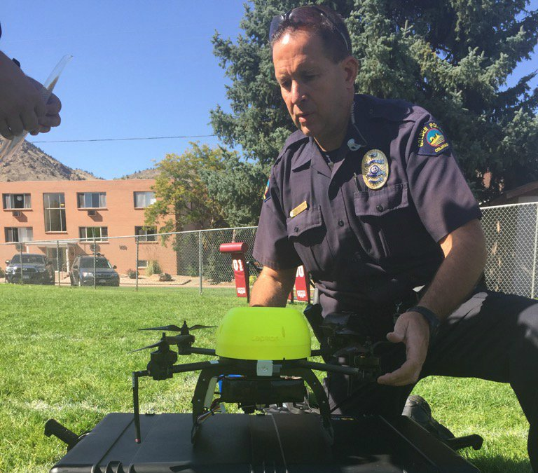 Golden Police among agencies that will be using drones to fight crime: via @sallymamdooh