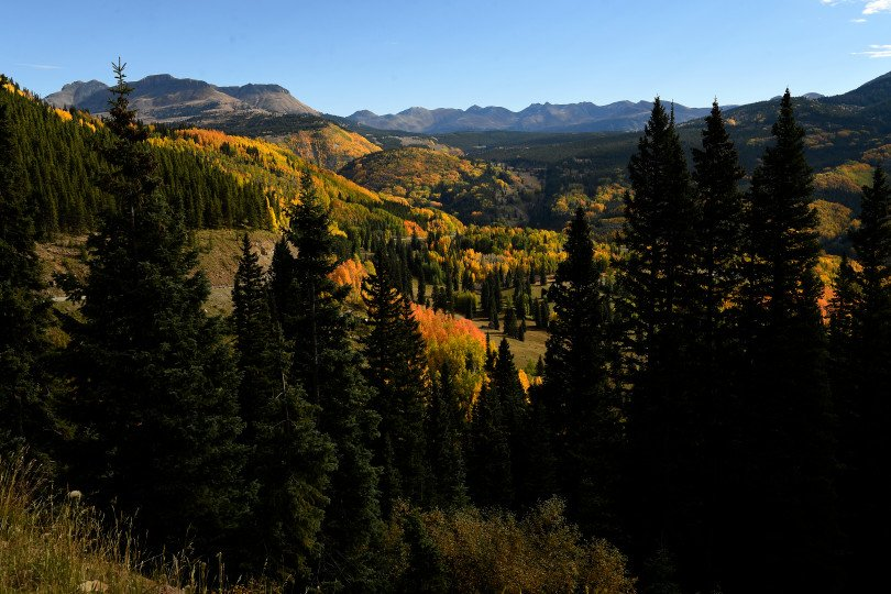 Fall colors in the San Juan Mountains doesn't disappoint
