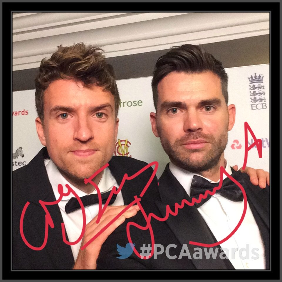 RT @PCA: Its the @gregjames & @jimmy9 show backstage at the #PCAawards https://t.co/Lt5pxtKBmy