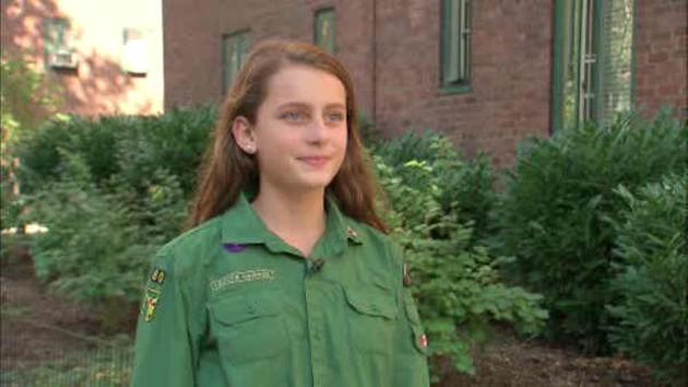 Teen launches petition to get Boy Scouts to open up to girls