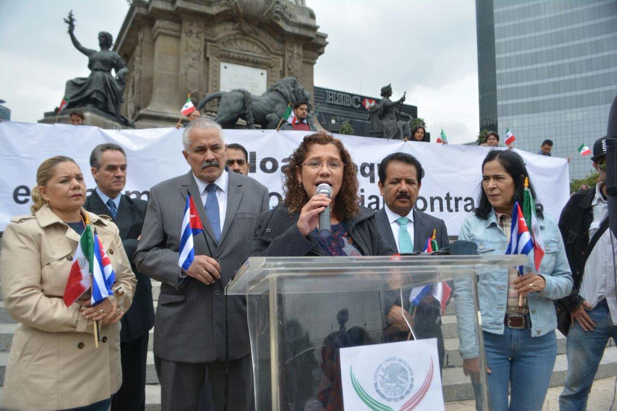 Se pronuncia Grupo de Amistad México-Cuba por levantar bloqueo económico y comercial de EU a la isla