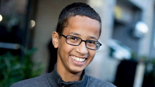 Father of 'clock kid' Ahmed Mohamed sues for defamation