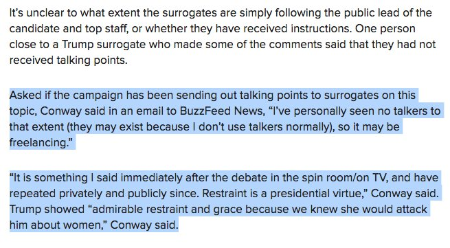 Katherine Miller On Twitter Kellyanne Conway Has Not Personally