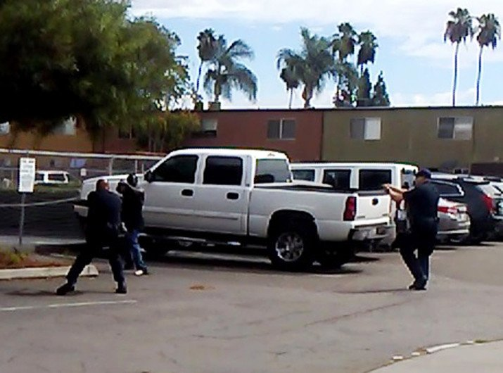 Black man shot dead in San Diego suburb just one minute after police arrived