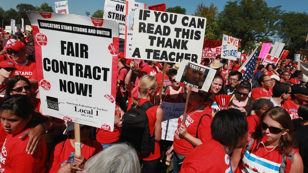 Chicago Teachers Union announces plan to strike on Oct. 11