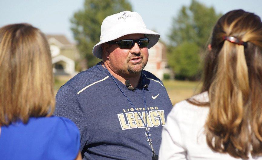 Legacy football coach Wayne Voorhees returns to practice after fatal bus crash