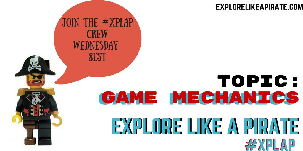 Join #xplap in 5 min to talk about game mechanics in schools. #tlap #gbl #games4ed https://t.co/OnImbHl8Rv
