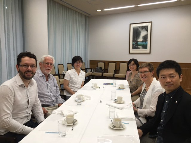 @CNBPscience, @PainAdelaide and @UniofAdelaide visiting @NagoyaUniv_info building greater research and teaching partnerships. https://t.co/BHSjmkvoWF