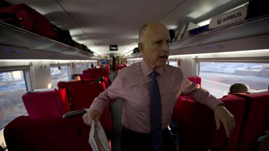 Gov. Brown vetoes bill aimed at improving bullet train oversight