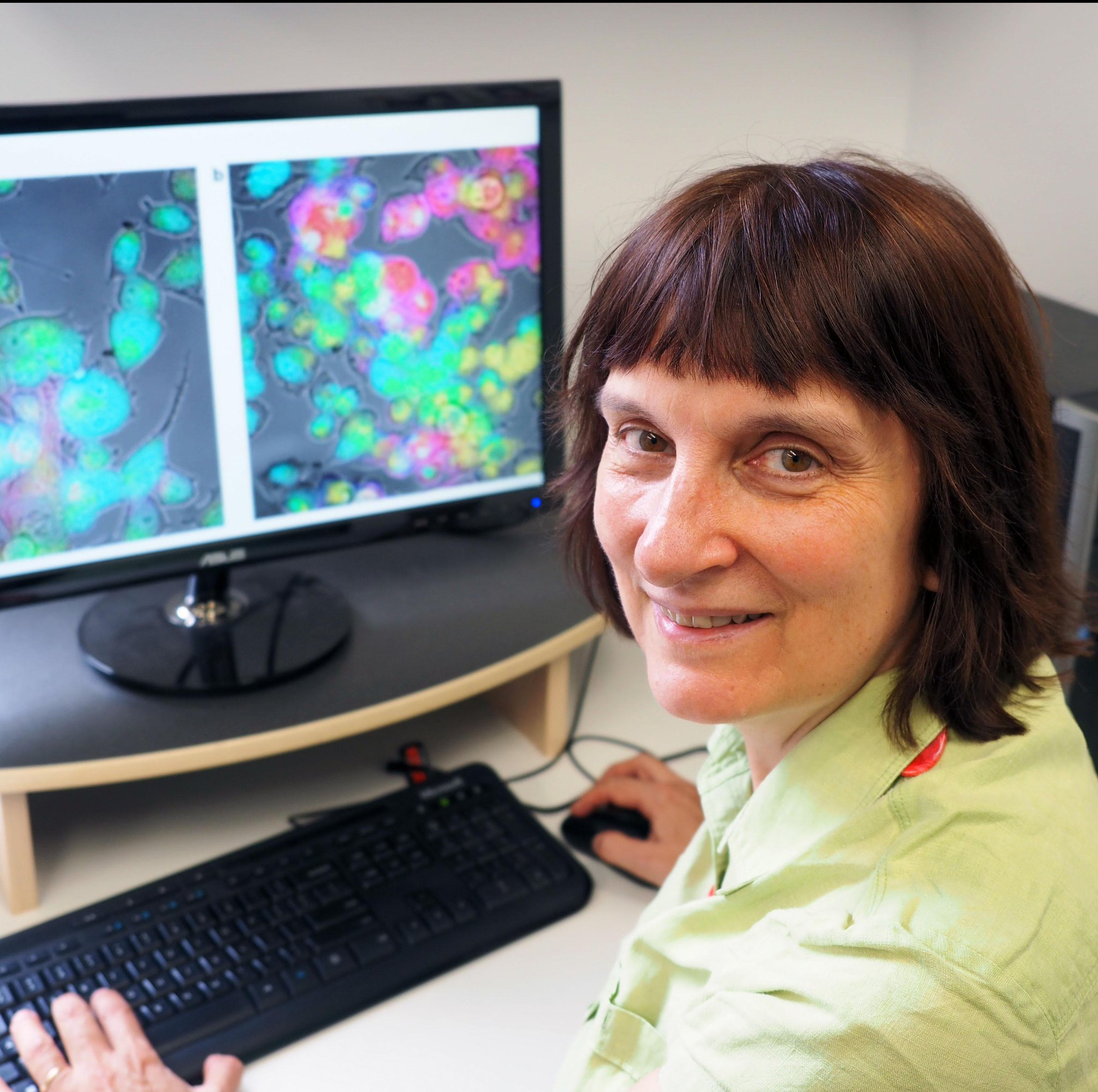 #CNBP's Ewa Goldys & her colour-focused cell science - a public talk @Macquarie_Uni. Tue. Oct 4, 1pm. All welcome. https://t.co/X6YUzxyQL0 https://t.co/KOQkPHAerZ
