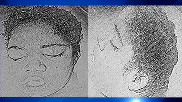 Police release sketches of head found in McKinley Park lagoon