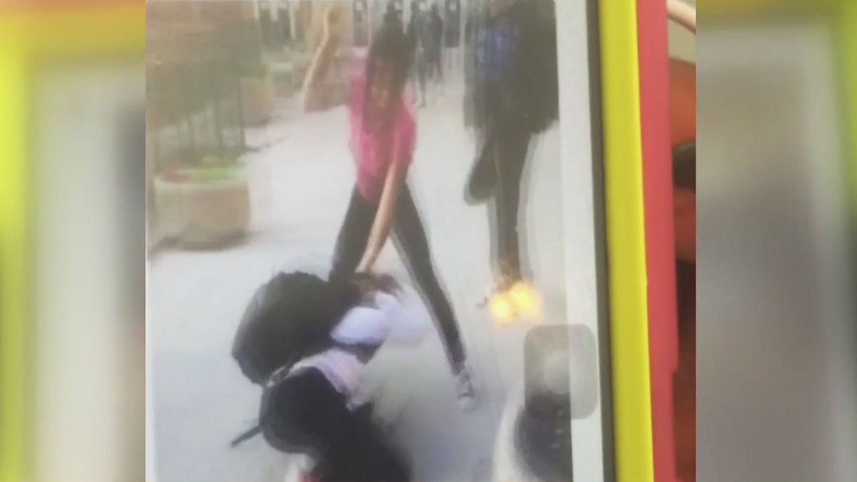Beating of girl caught on camera outside AnnArbor middle school, reports @RonSavageEMT