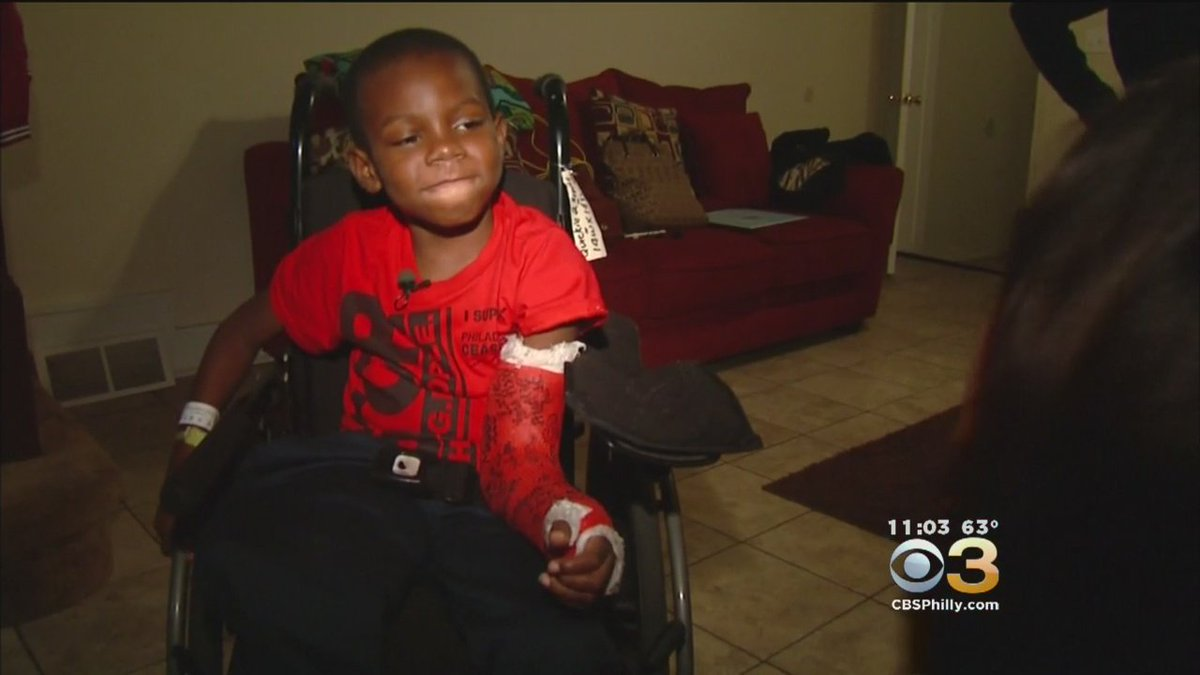 6-Year-Old, Caught In Hail Of Gunfire, Has Miraculous Homecoming. @NatashaCBS3 Reports