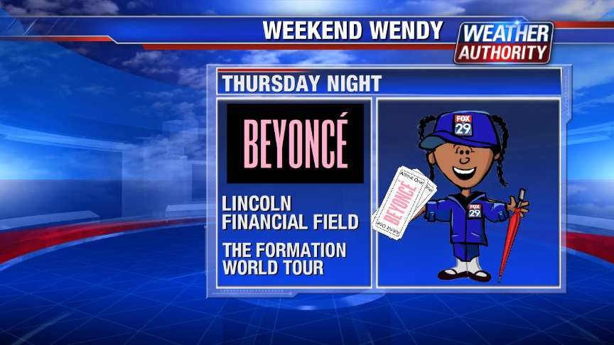 WENDY is ready for Beyonce! @LFFStadium Thursday night. @FOX29philly