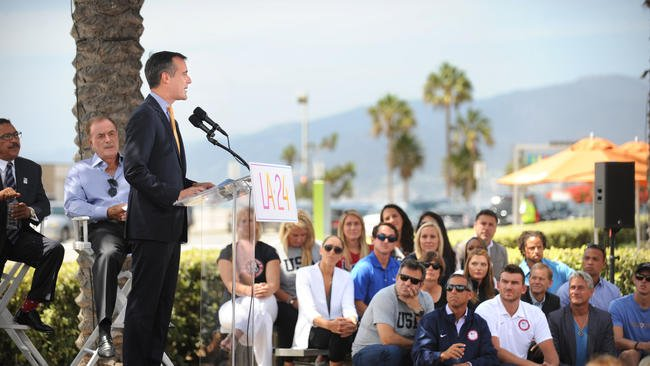 L.A. city leaders question financial risk of hosting 2024 Olympic Games