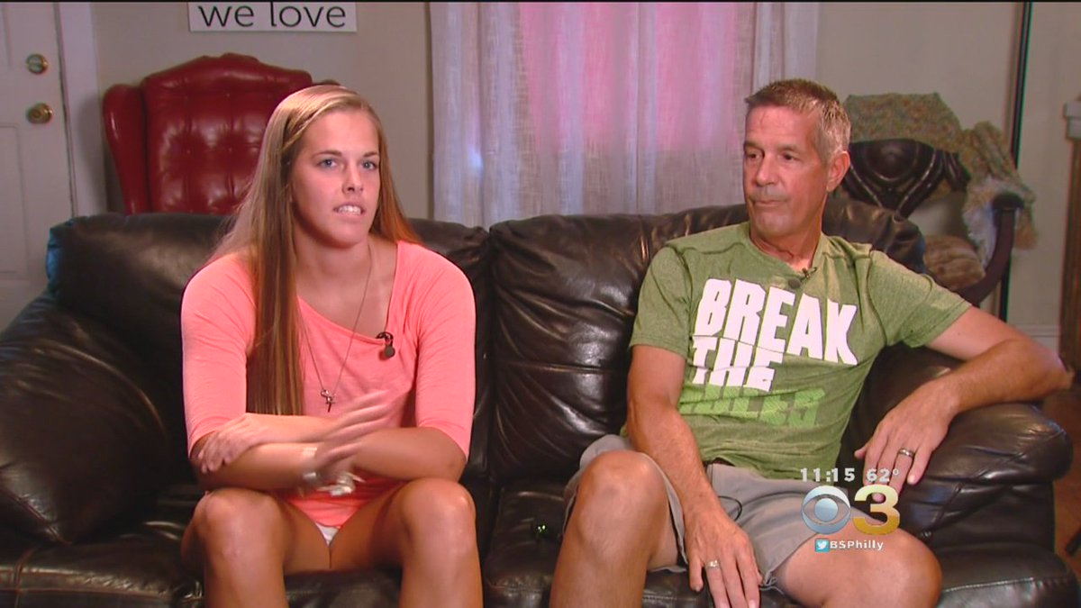 Father, Daughter Share Special Bond Over Life-Saving Transplant. @StahlCBS3 Reports
