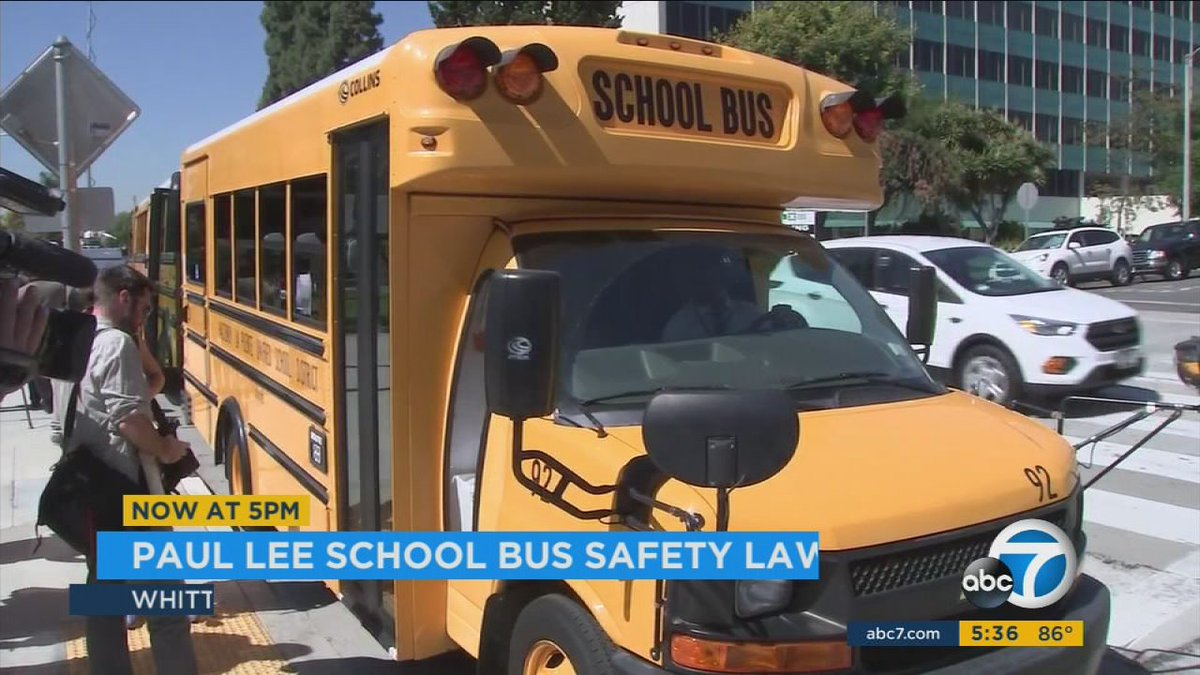 State safety law honors Whittier boy with autism who died in hot school bus