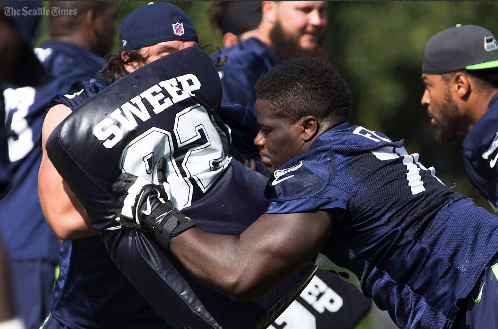 Seahawks' rookie Germain Ifedi excited for chance to make NFL debut against Jets Sunday.