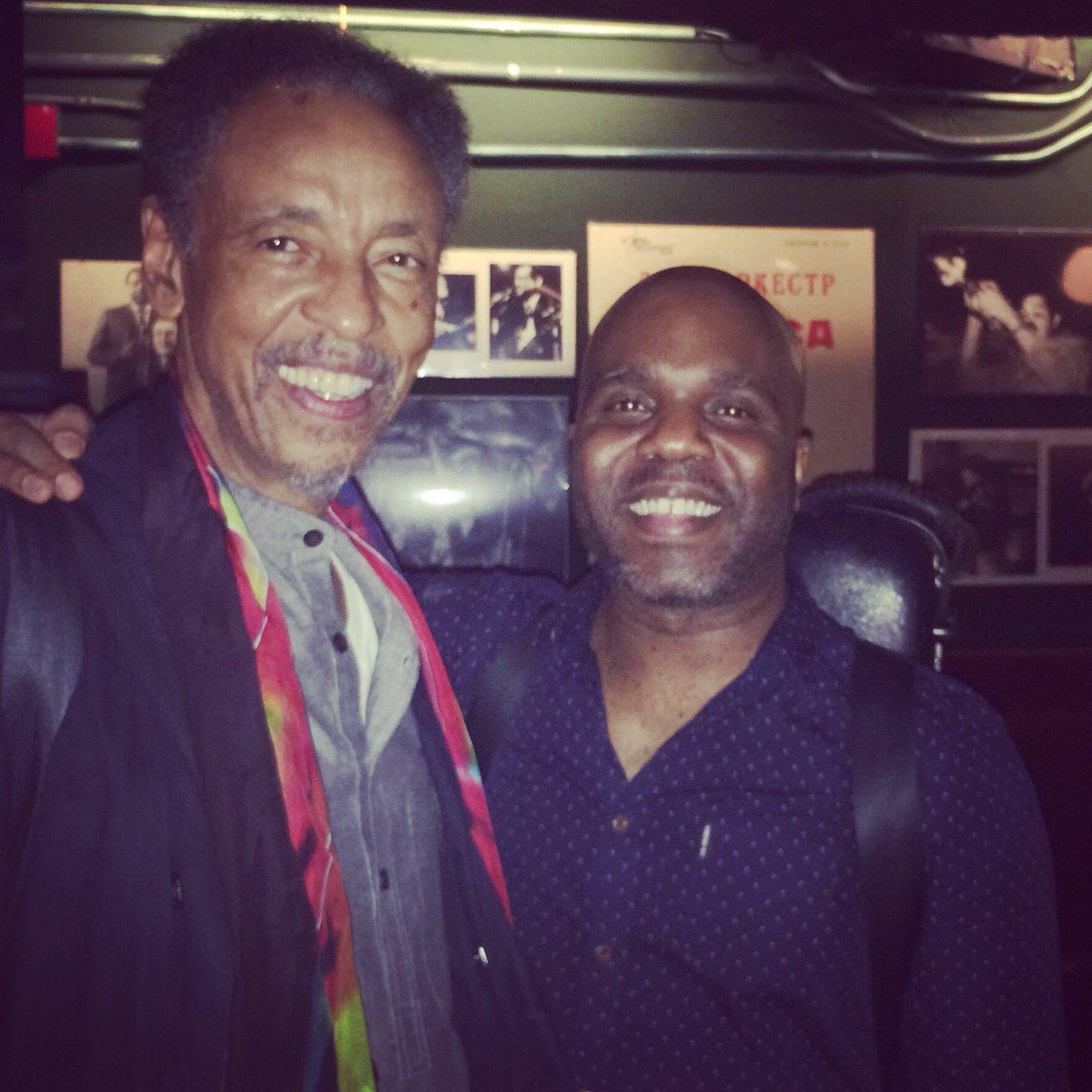 It was great to chat with the great Henry Threadgill after his set at @vanguardjazz tonight.