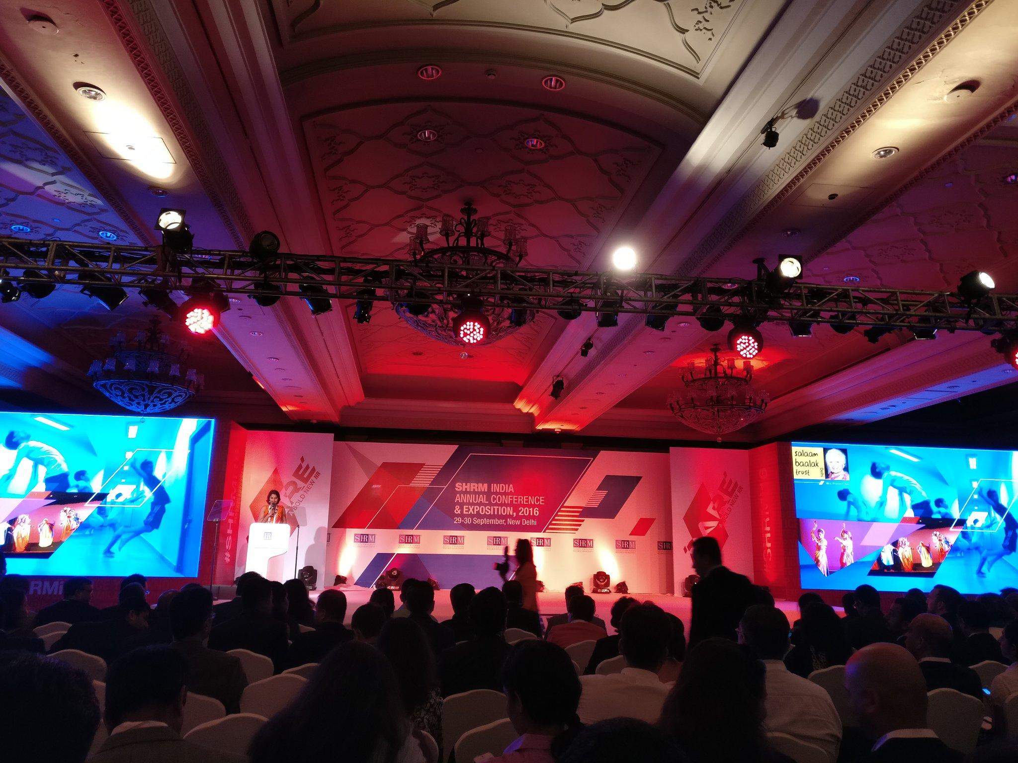Salaam Baalak Trust performing @SHRMindia #SHRMI16 https://t.co/ljgl8pBEgb
