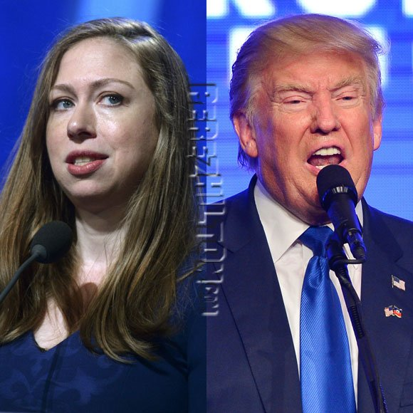 ICYMI! #ChelseaClinton claps back at #DonaldTrump in the best way possible! https://t.co/NHXibnPwA4 https://t.co/o1Rl6IgId9