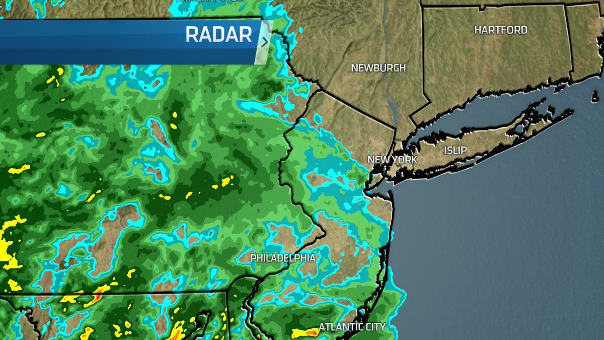 Radar 6:30 AM: Most of the rain staying away from the city, but a few showers are possible.