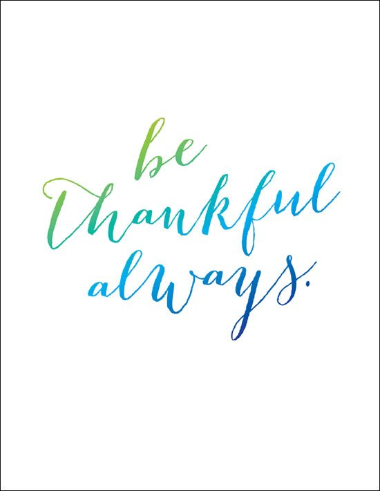 Be #thankful, always! https://t.co/S5Q3r220cp