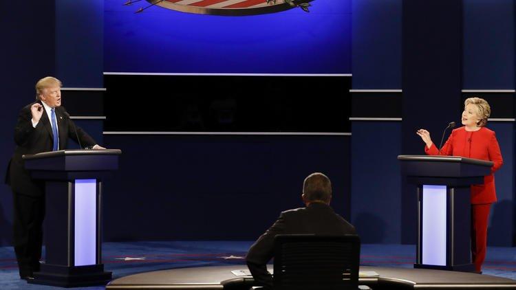 Skelton: Hillary Clinton was the matador to Donald Trump's bull in first presidential debate