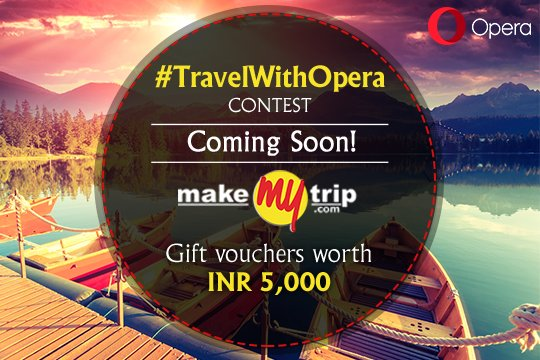 150 RTs to this tweet and we'll disclose our #TravelWithOpera contest to you. C'mon, give us a shout guys! https://t.co/iyt0gMwQXc
