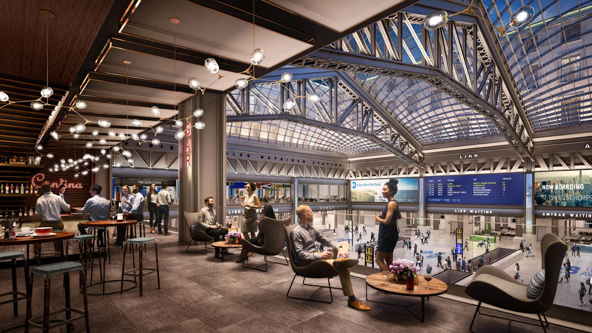 Penn Station will look like this in 2020, according to design plans