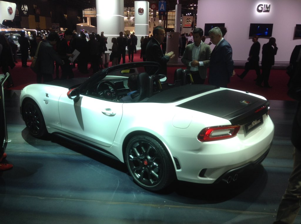 Nuovo Abarth 124 Spider (VIDEO)