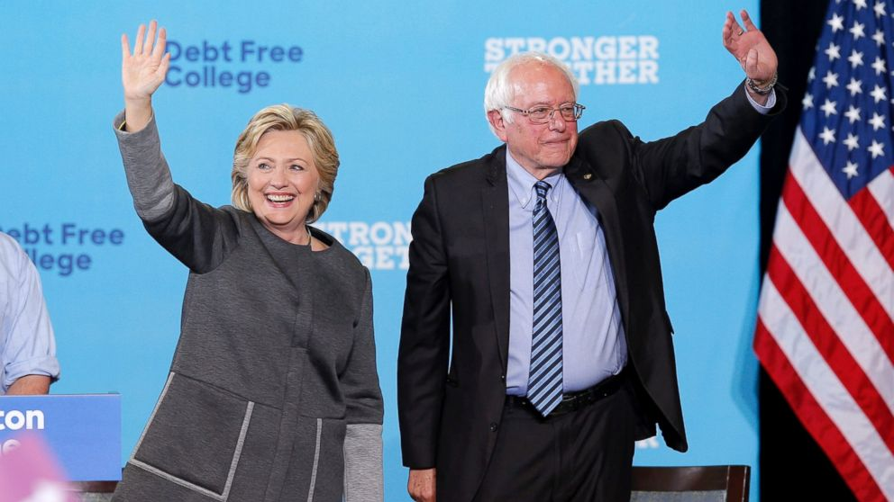@SenSanders hints at putting 'pressure' on @HillaryClinton over banking issues
