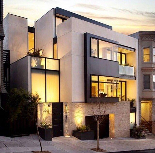 "Best Exterior Home Design 2017: DAR SALWA™️ تصميم ديكور On Twitter: ""💎 واجهات فلل مودرن"