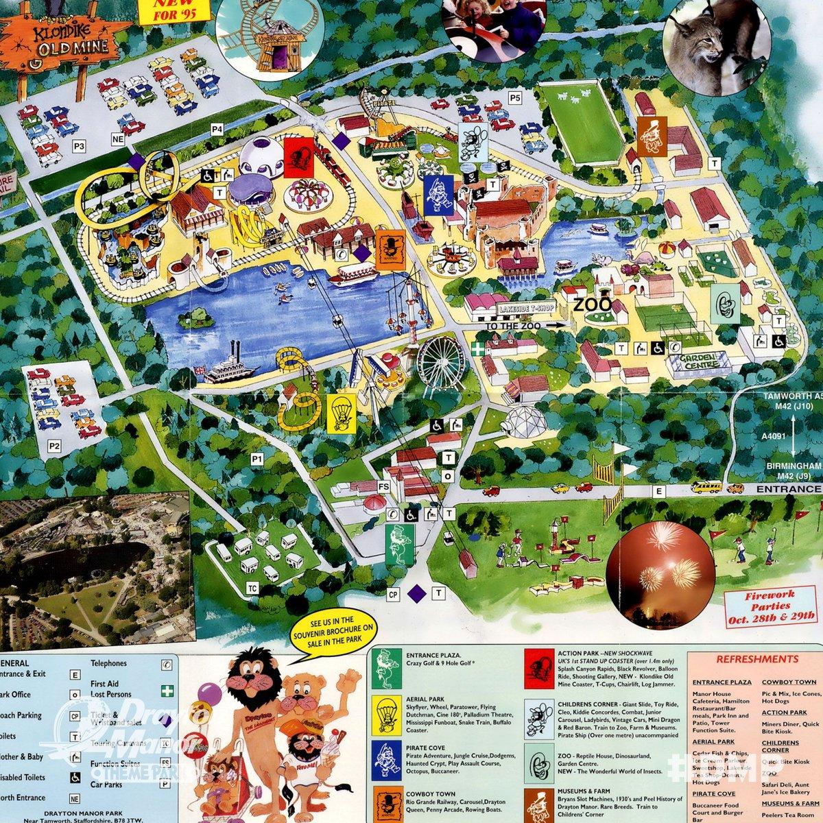 Drayton Manor Map Drayton Manor on Twitter: