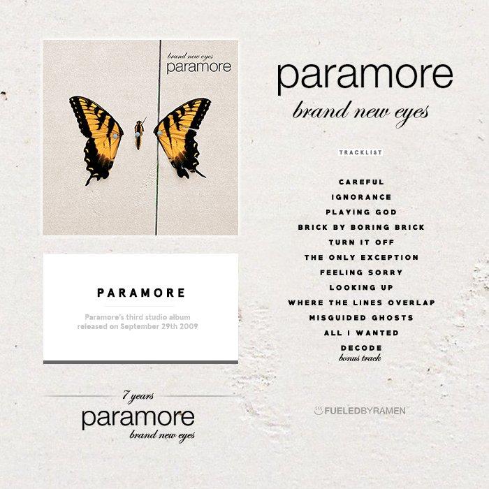 download paramore brand new eyes full album rar