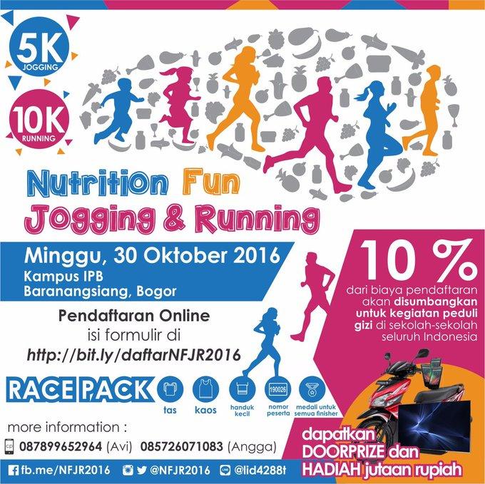 Nutrition Fun Jogging & Running ∙ 2016