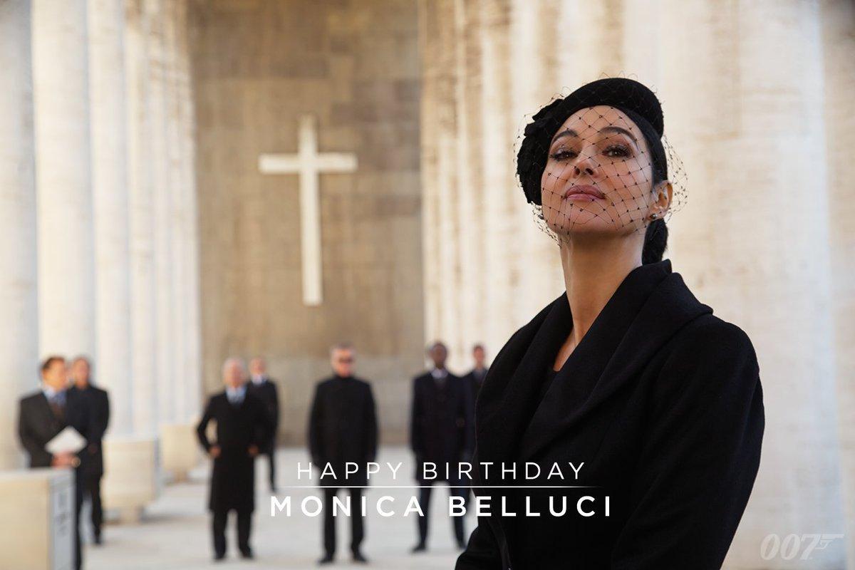 "James Bond On Twitter: ""Happy Birthday To Monica Bellucci"