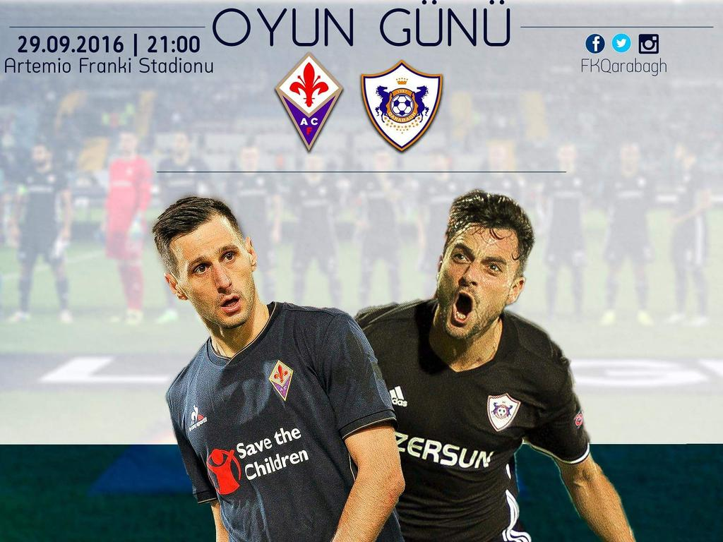 FIORENTINA-QARABAG Streaming GRATIS, vedere Video Diretta TV con PC Tablet iPhone