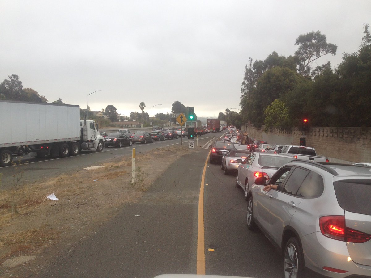 Traffic at a stand still on WB80 in Vallejo, due to fatal Ax.kron4news