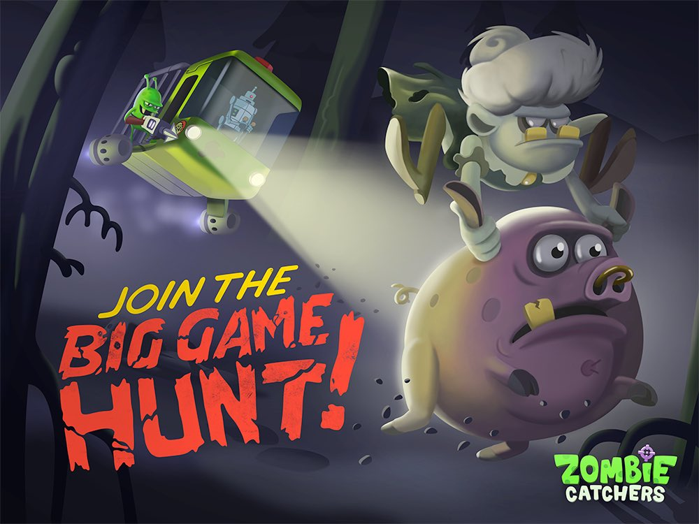 Zombie Catchers On Twitter The Hunt Is On Play New Boss Zombie