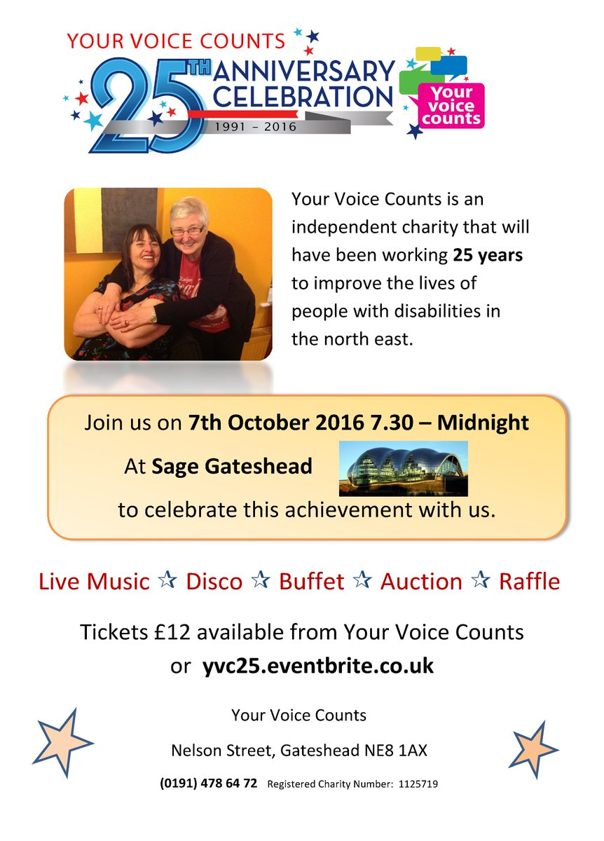 Celebrating Voices October 30th Your >> Your Voice Counts On Twitter Yvc Celebrate Our 25th Anniversary