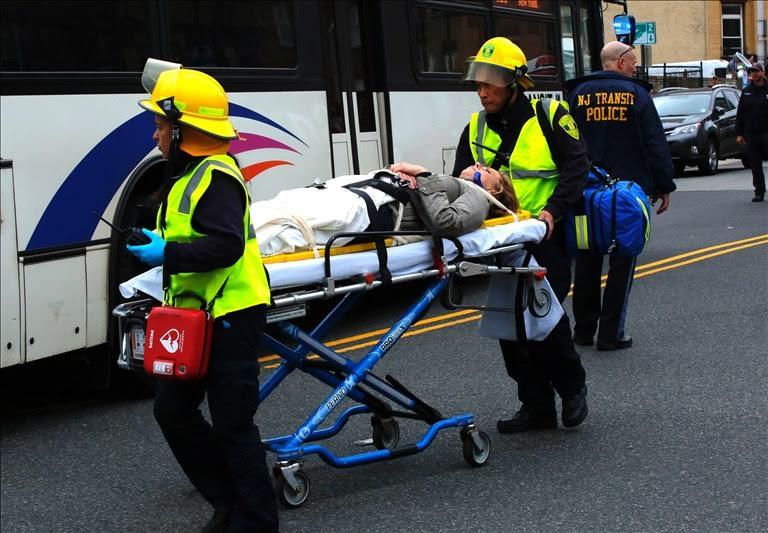 Terjadi Kecelakaan Kereta Api Di Nueva Jersey