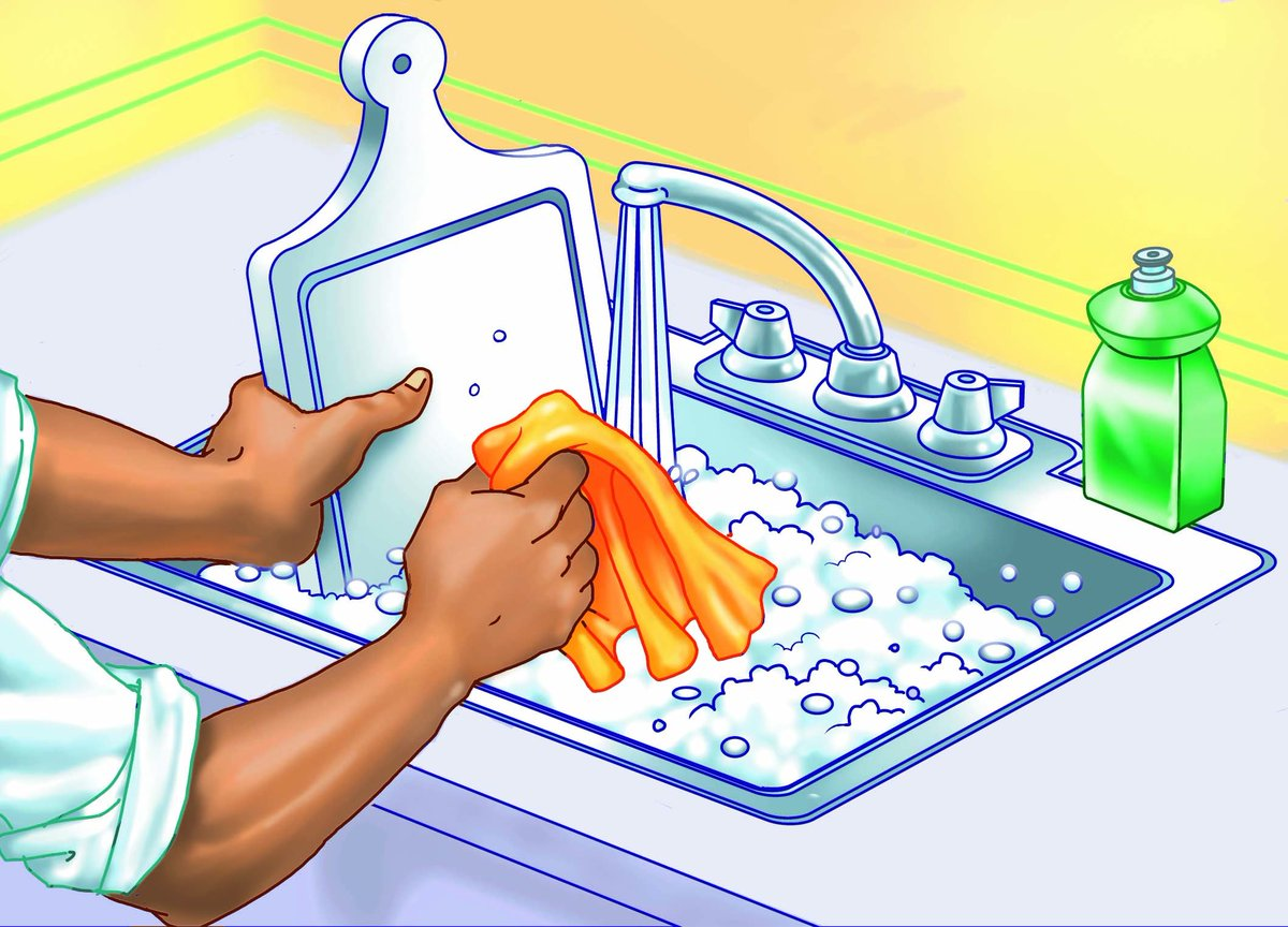 Sparkling clean kitchen clipart - Free Samples Freebies 100 Free By Mail