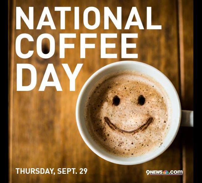 It's NationalCoffeeDay ! Tell us your