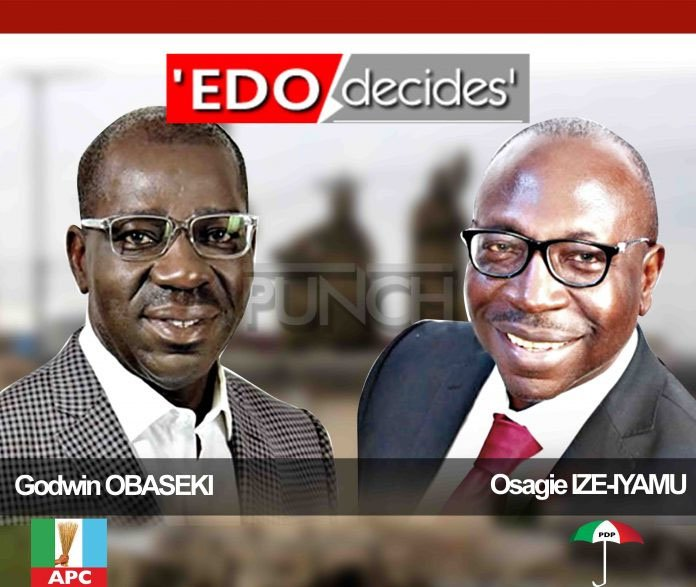 #Edo Decides: See Results of Yesterdays Election